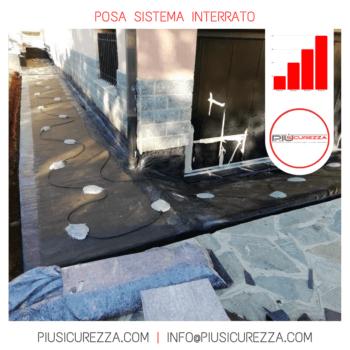 ANTIFURTO INTERRATO PIU' SICUREZZA SRL